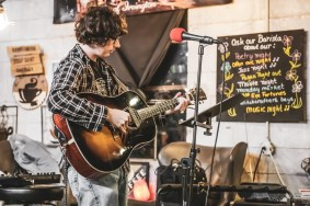 Discovery Open Mic was a passionate evening packed full of talent at Coal Yard Coffee on Saturday, March 7, 2020. Photo cred Melodie Yvonne