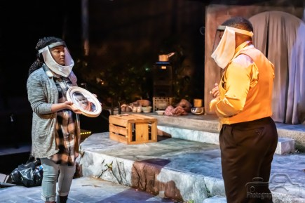 Purdue Theatre's production of In the Blood is a harrowing work of art brought to life by a phenomenal cast that truly pulls the audience into the heart wrenching performance. Show will livestream March 26 from the Mallett Theatre, and follow with multiple Digital Performances through March 28, 2021. Photo cred Melodie Yvonne