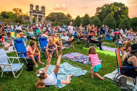 Holliday Park and The Vogue welcomed The Wood Brothers to the Rock the Ruins stage for a beautiful musical evening on Saturday, August 21, 2021. Photo cred Melodie Yvonne