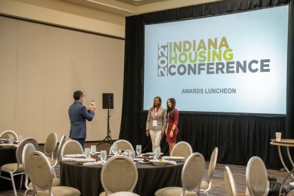 Attendees traveled from all over for the Indiana Housing Conference 2021 in downtown Indianapolis, Indiana. Photo cred Melodie Yvonne