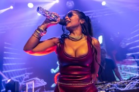 The beautiful and super talented Ashanti packed the house for The Vogue's Labor Day Weekend Party on September 4, 2021. Photo cred Melodie Yvonne
