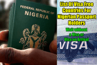 Canada Student Visa In Nigeria, visa free countries for nigerian passport holders 2019
