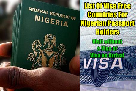 Canada Student Visa In Nigeria, visa free countries for nigerian passport holders 2019