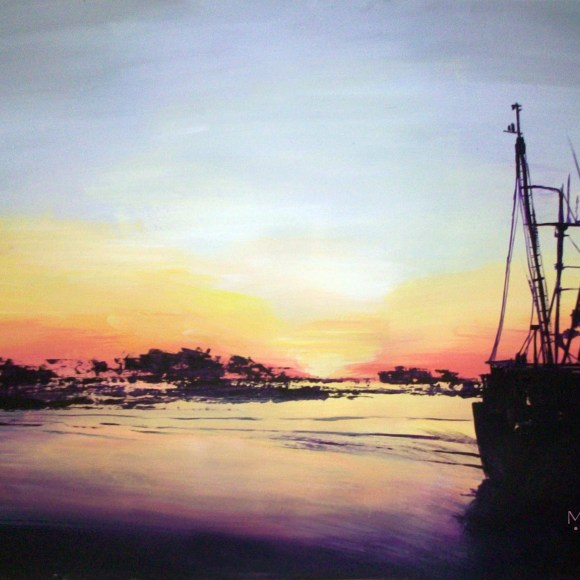 Beyond These Shores - SOLD. Prints available.
