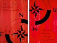 True North Diptych - NFS • Prints Available