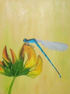 Dragonfly Series - Blue - NFS • Prints Available