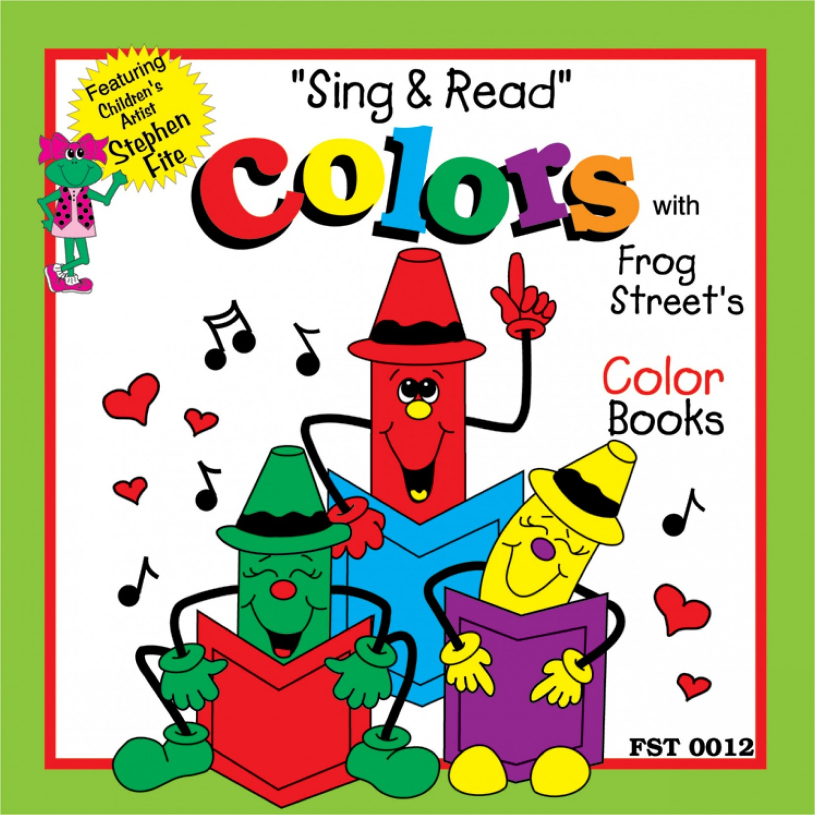 Sing Amp Read Color Collection Cd Melody House Music