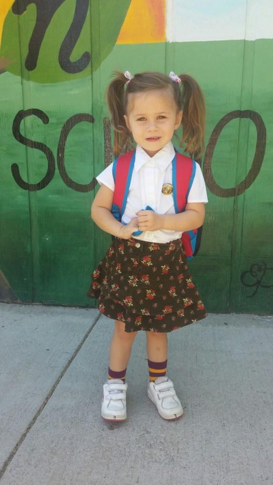 Ella loves preschool! (5/5)