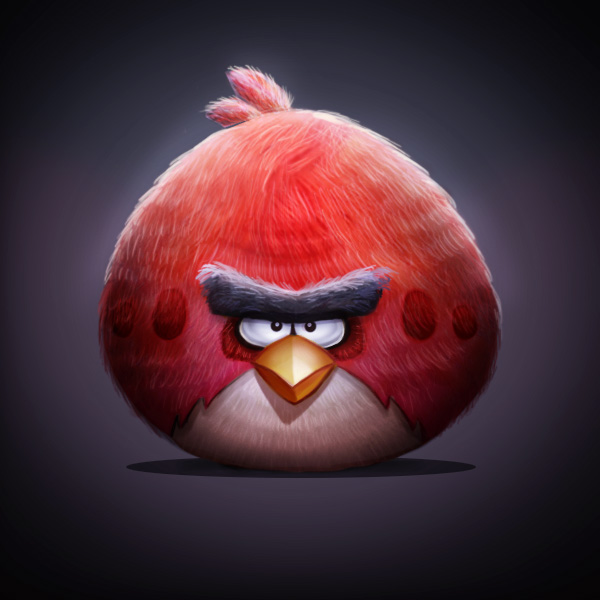 How to Paint an Angry Bird