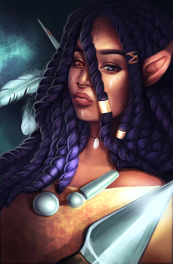 Niobe Cover Contest Art by Melody Nieves