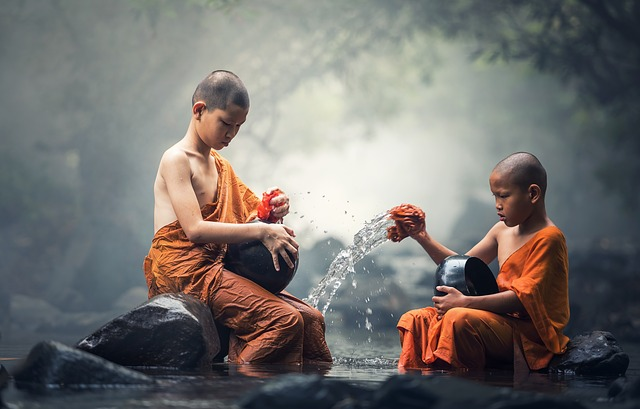 Buddhist Kids, Monks
