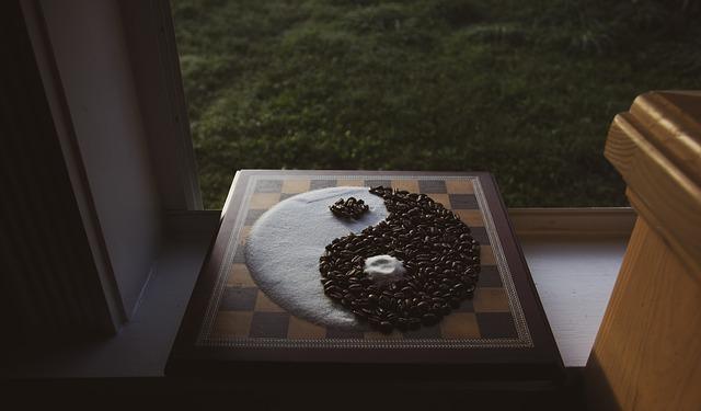 Yin Yang depicting Karma