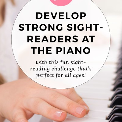 "Develop Strong Sight-Readers with ""The Great Sight-Reading Challenge"""