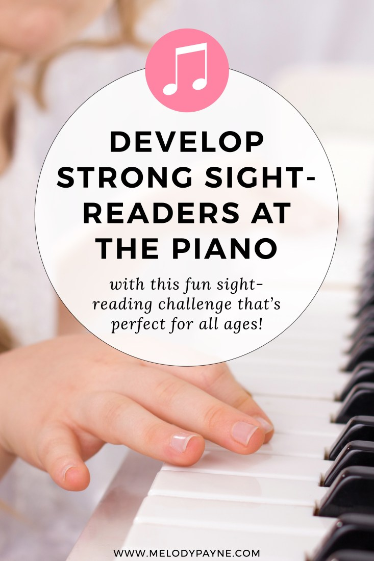 "Pin image for ""The Great Sight-Reading Challenge"" Post"