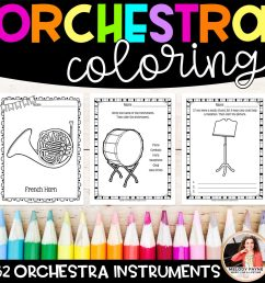 Orchestra Instrument Worksheet   Printable Worksheets and Activities for  Teachers [ 1100 x 1100 Pixel ]
