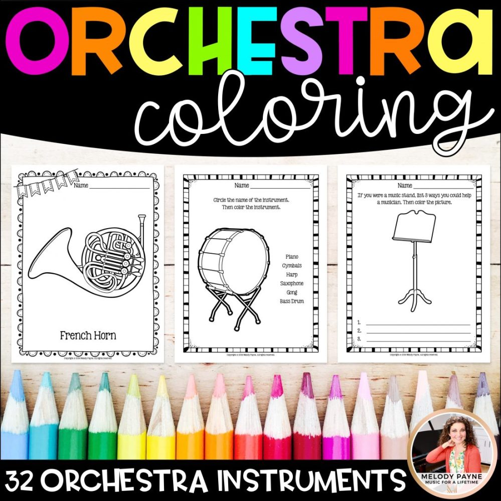 medium resolution of Orchestra Instrument Worksheet   Printable Worksheets and Activities for  Teachers