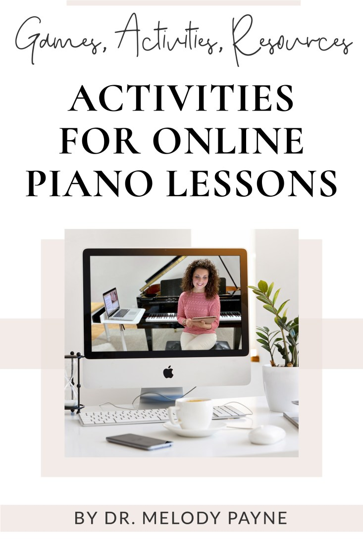Activities & Resources for Online Piano Lessons