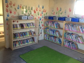 Primary School AFTER (an actual library!)