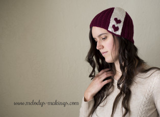 FREE Knitting Pattern ♥ Sweet-ish Subtlety ~ Knit Version by Melody Rogers