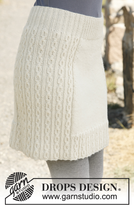 10 Knit or Crochet Skirts Youll Adore  Melodys Makings