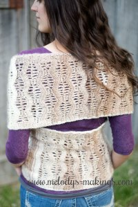 Wisteria Infinity Wrap {Free Pattern!} | Melody's Makings