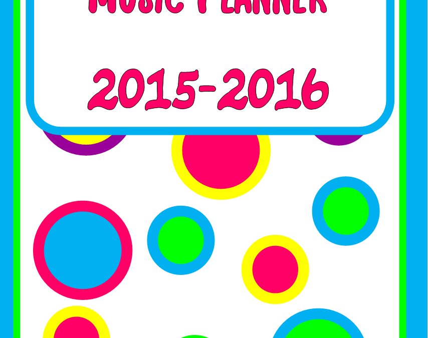 Chapter 6 – Music Planner Cover