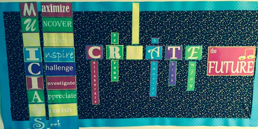 2015-2016 Music Classroom Bulletin Board – FREE Download!