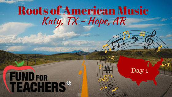 Roots of American Music – Day 1 – On the Road