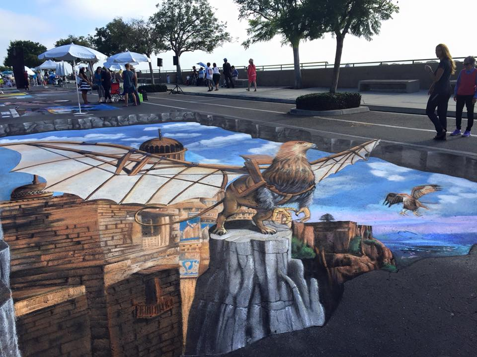 3d street art installation mural painting collaboration masterpiece project.