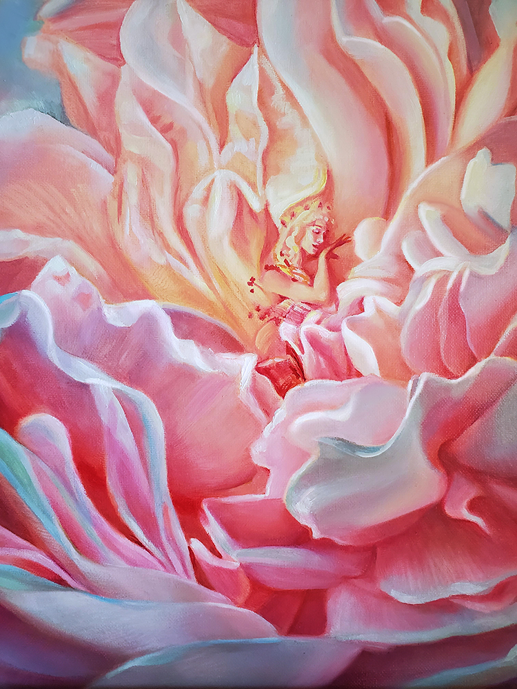 Light in the Heart Blossoming New Life Melody Owens Art