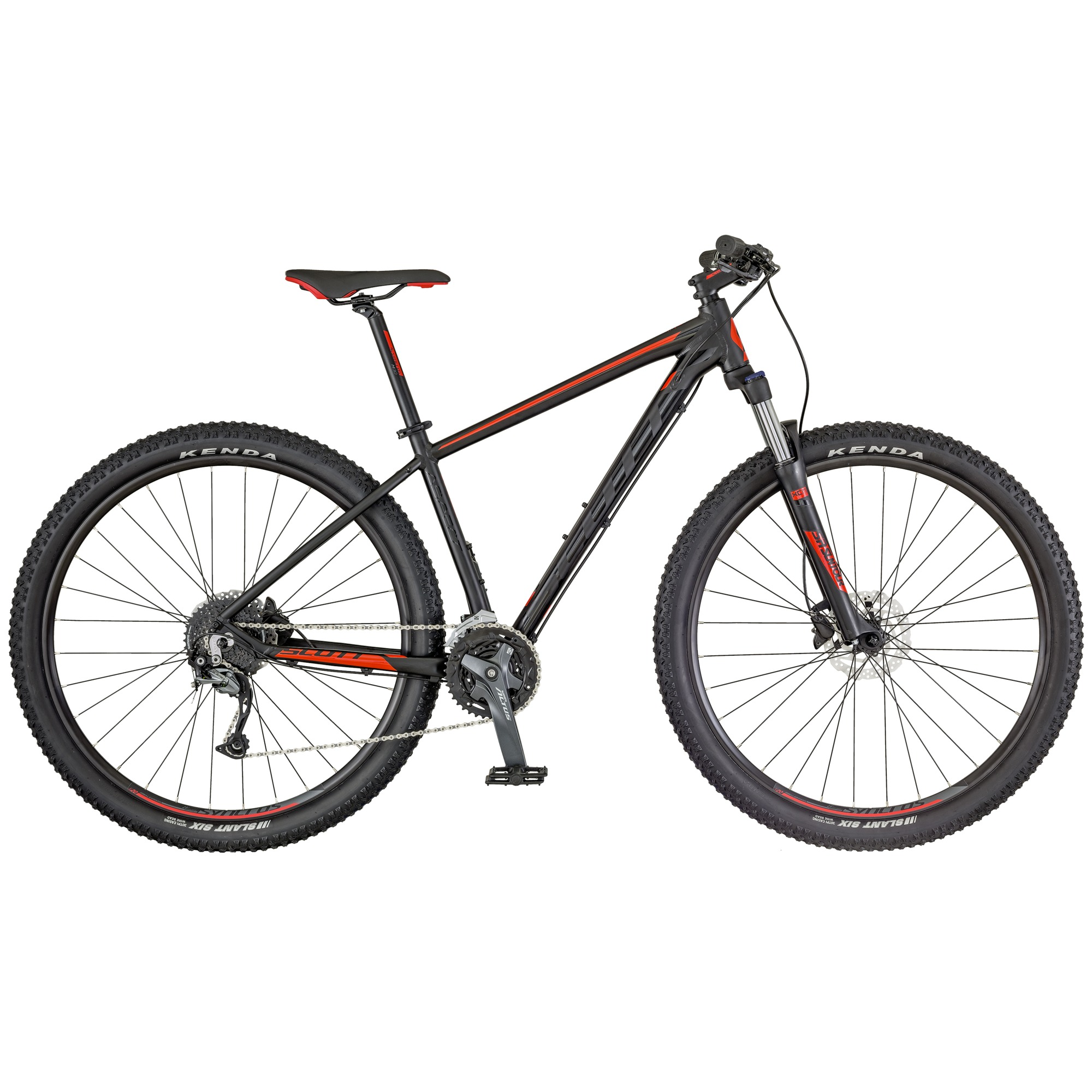 Scott 2018 Aspect 940 Bicycle Alloy Black, Red