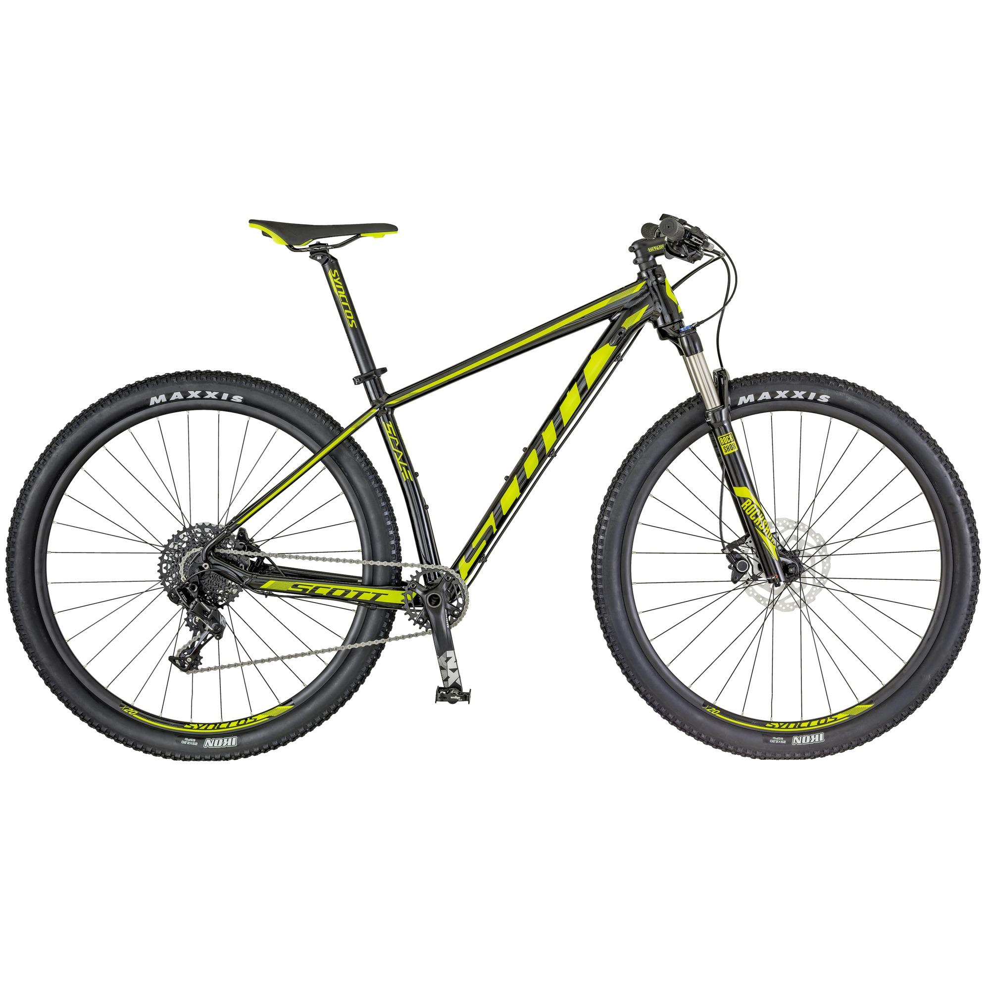 Scott 2018 Scale 980 Bicycle Alloy Black, Neon Yellow