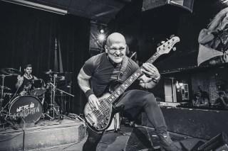 Danny Knapp Melonhead Bass Guitarist Live