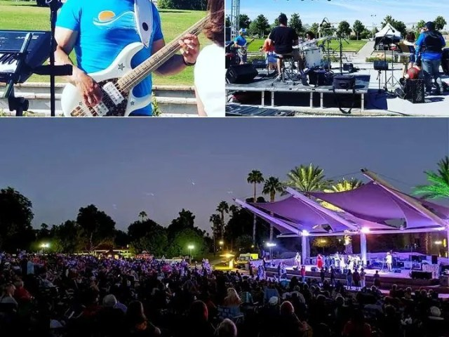 throwbackthursday October 2019, soundcheck and performance at the Palm Desert Civic Center with LA Sound Machine.