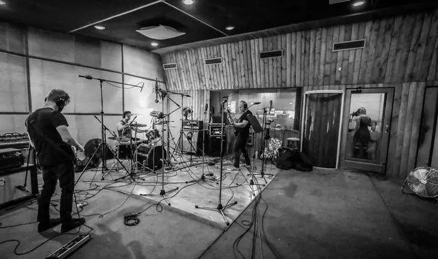 Whenever given the chance, I love recording 'live', with everyone in the band playing together instead of tracking each instrument separately.