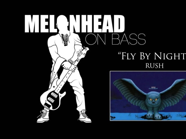 """Since Monday was International Rush Day (21/12), for waybackwednesday, here is the full-length version of the bass cover I did for """"Fly By Night"""" to celebrate the 45th anniversary of the release of Rush's second album and tour of the same name."""