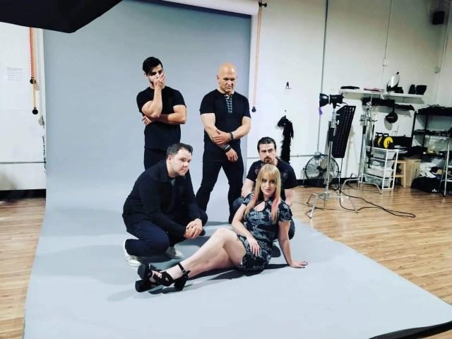 Behind the scenes: WNG photo shoot
