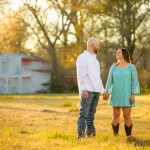 rustic engagement pictures Conroe