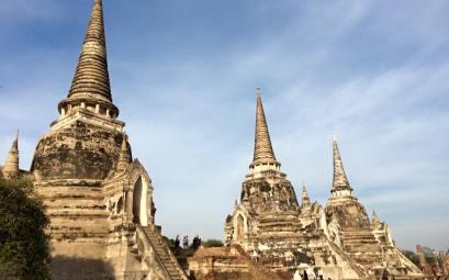 Templo de Ayutthaya, Tailandia