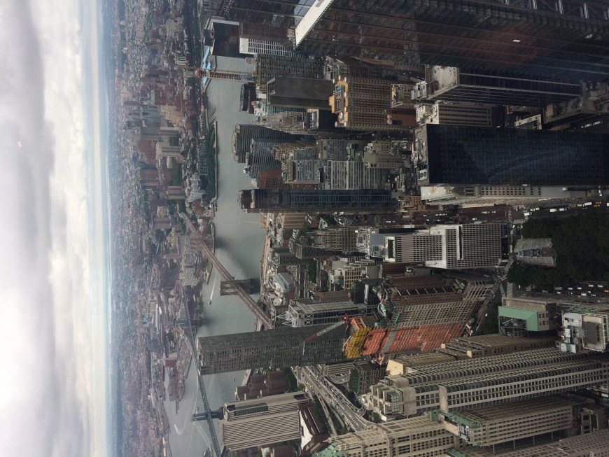 Vistas desde el mirador del One World Observatory, un lugar para visitar en New York imprescindible
