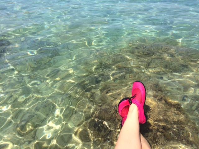 pies con cangrejeras en islas pakleni