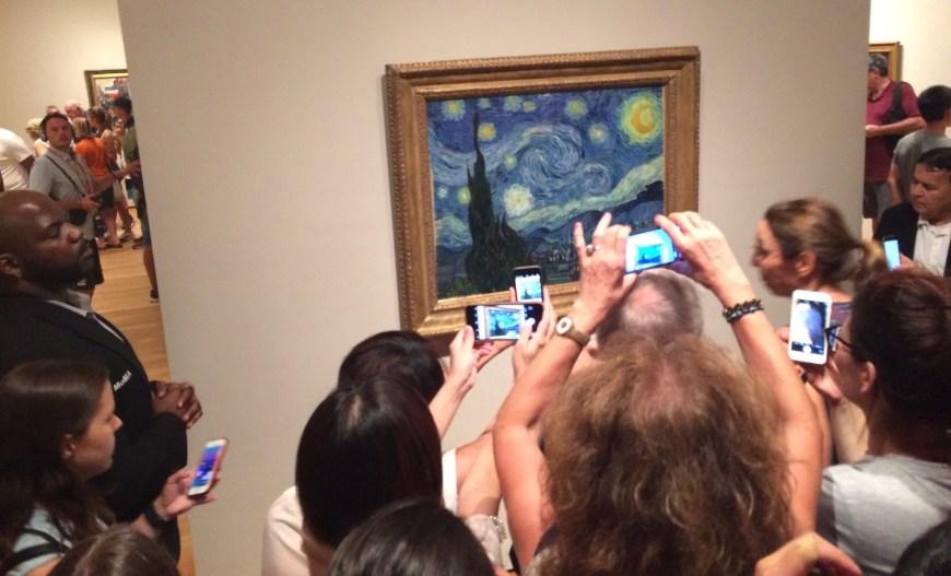 cuadro van gogh Museo MoMA de New York