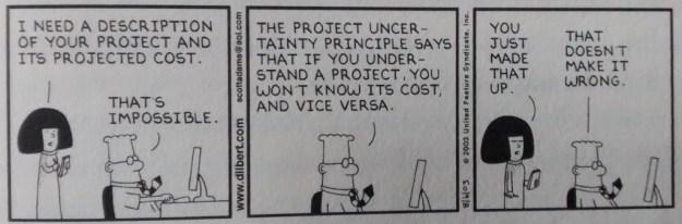 Dilbert Uncertainty Principle