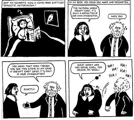 Dualistic Comic Marx vs Descartes
