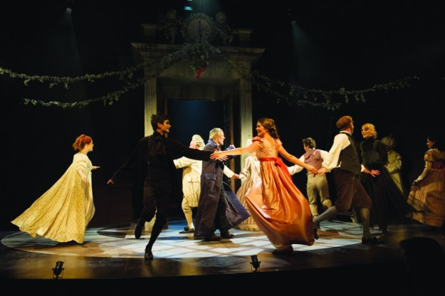 Dancing Scrooge