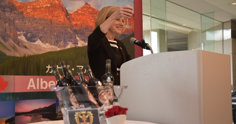 Alberta wine goes international