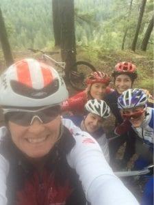 Melanie McQuaid Boost aero helmet