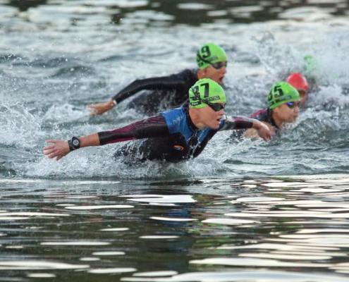 swim leg itu multisport world Championship