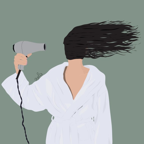 Illustration Instagram - Bad hair day