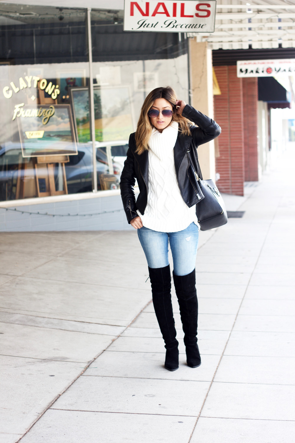 Over The Knee Boots  MelRod Style